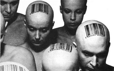 штрих-коды на голове