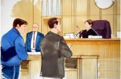 Пример поведения Человека в суде