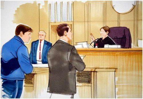 Поведение Человека в суде